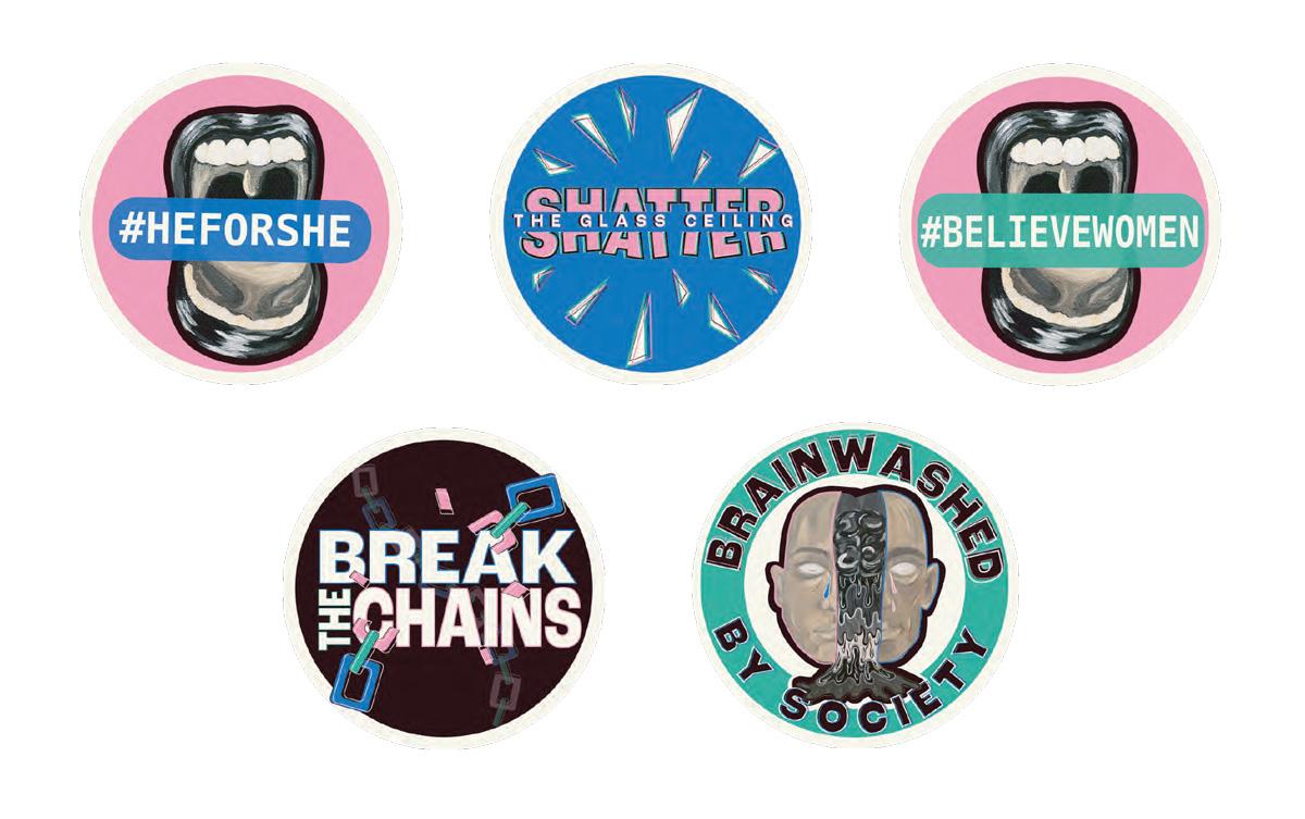 Hughes-stickers
